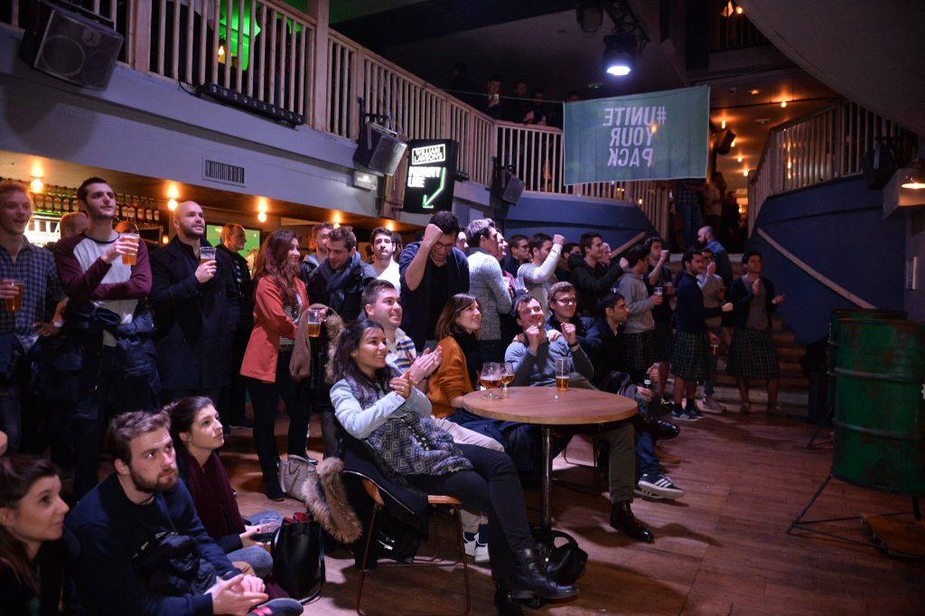Spectateurs au Bal Rock