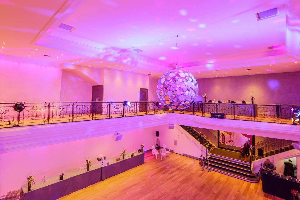 Salle de soirée du Pavillon Wagram
